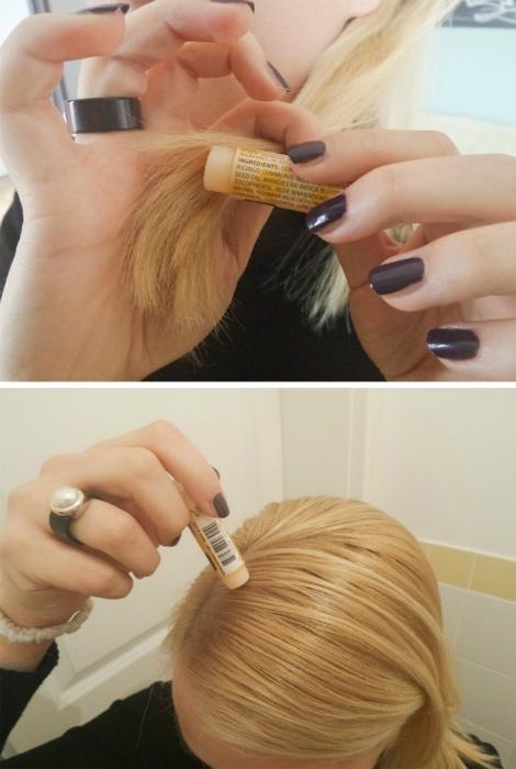 Разглаживающее средство для волос.
