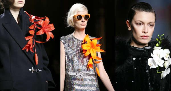 Модные броши осень-зима 2014-2015