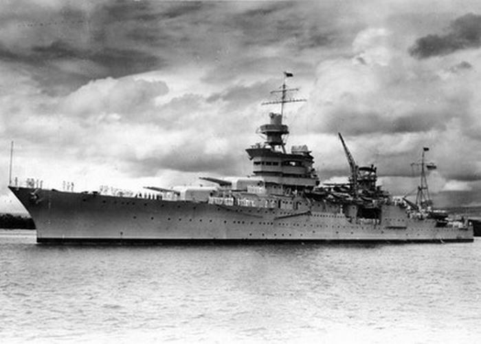 Транспортный корабль «Индианаполис».