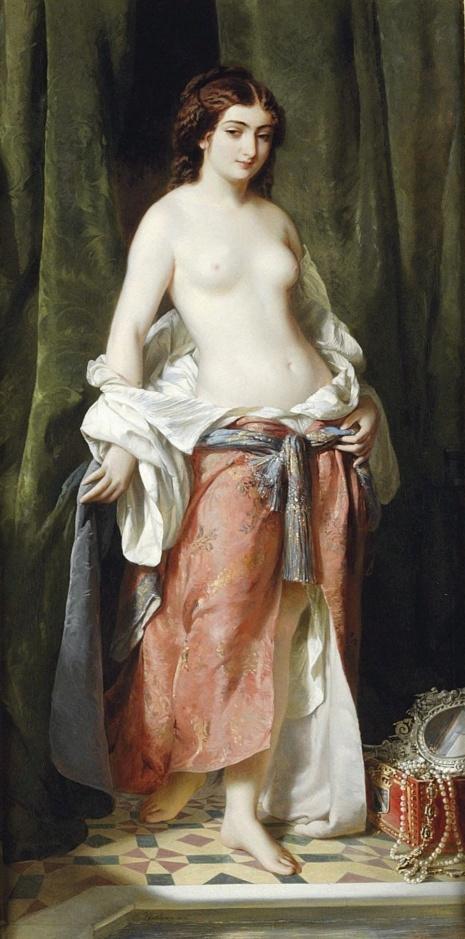 художник Charles Edouard Boutibonne (Шарль Эдуар Бутибон) картины – 04