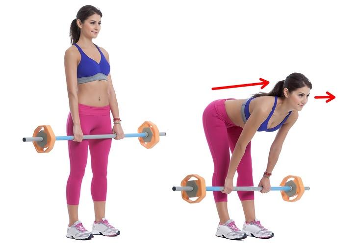 упражнения с тягой