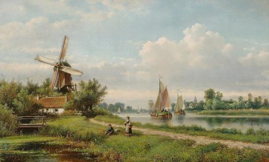 художник Лодевейк Йоханнес Клейн (Lodewijk Johannes Kleijn) картины – 10