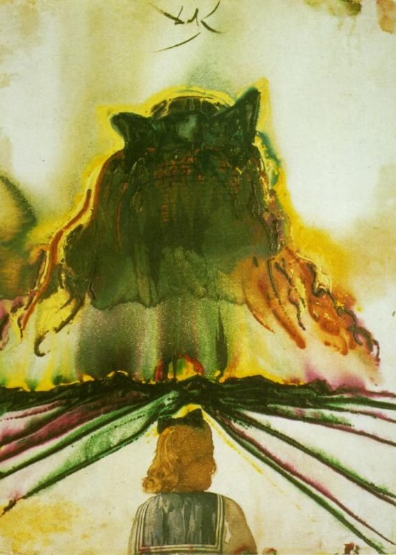 Сон Галы. Мечты о рае. Сальвадор Дали, 1972