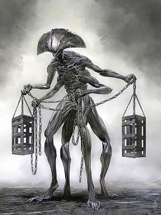 Знаки Зодиака в представлении художника Дэмона Хелландбрэнда