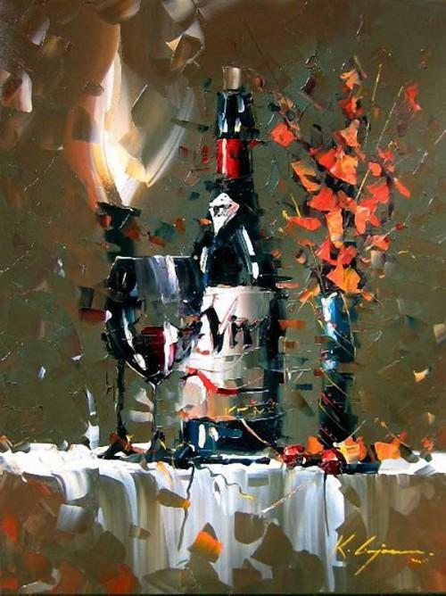 картина художник kal gajoum-26