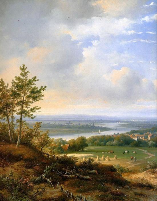 художник Лодевейк Йоханнес Клейн (Lodewijk Johannes Kleijn) картины – 06