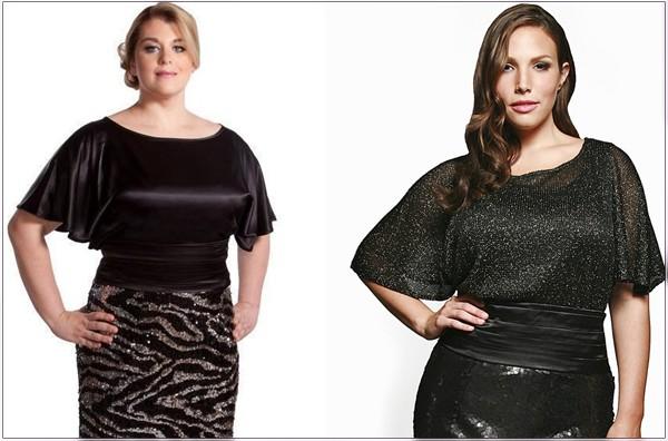 c1b4d063323 Нарядные блузки для полных женщин – модные тенденции и секреты выбора  Power.ladyblissme.ru