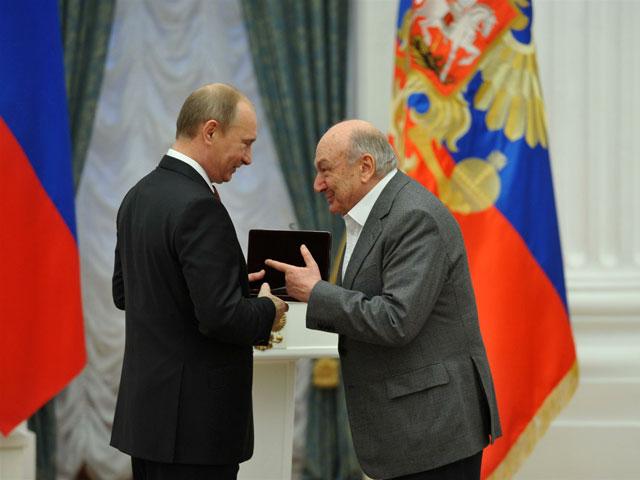 Михаил Жванецкий и Владимир Путин