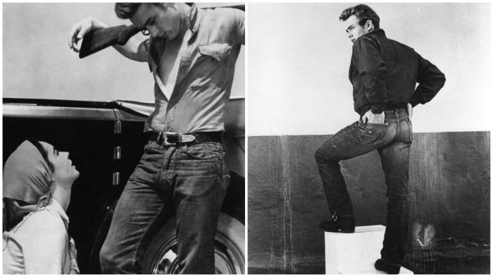 «Плохишу» Джеймсу Дину удалось закрепить за джинсами хорошую репутацию.