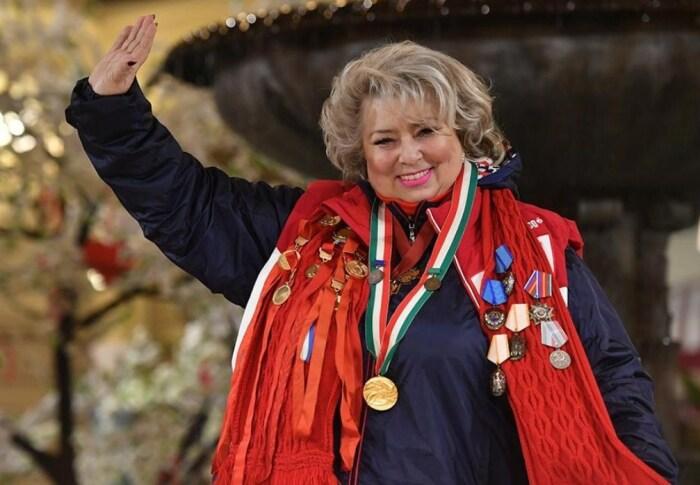 Татьяна Тарасова. / Фото: www.twimg.com