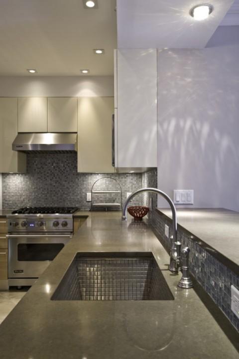 Как использовать мозаику в интерьере кухниmodern-kitchen