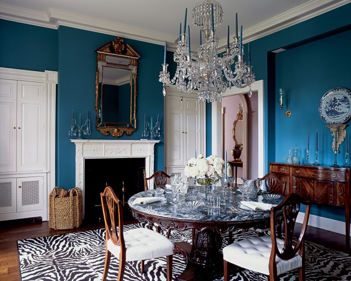 glamourous dining room How to Make your Home Look Glamorous