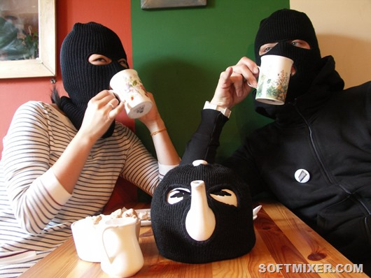 Чайник-Осторожно-грабитель