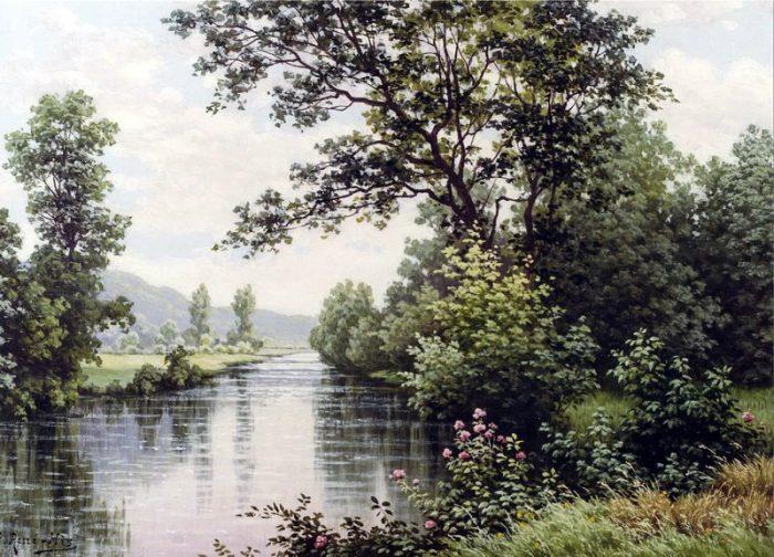 художник René Charles Edmond His картины -2-08