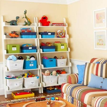 цветные ящики для игрушек
