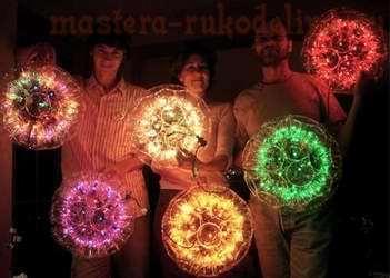 Мастер-класс: Светящийся шар