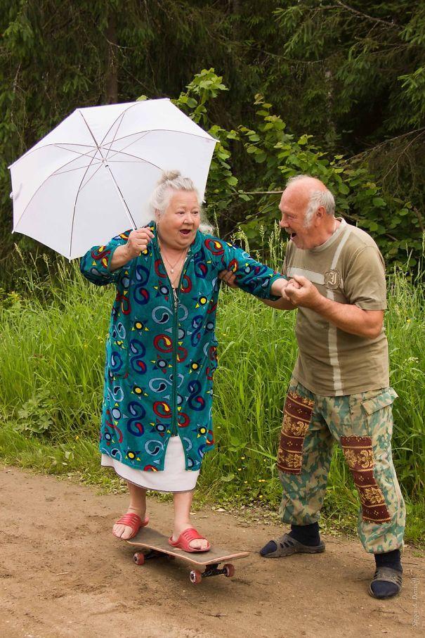 Бес в ребро, forever young, пожилые пары, весёлая старость
