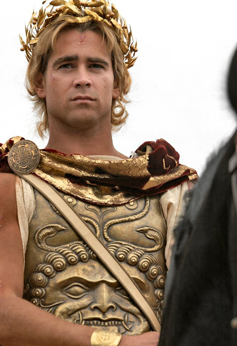 Таким Александра Великого изобразили в Голливуде.