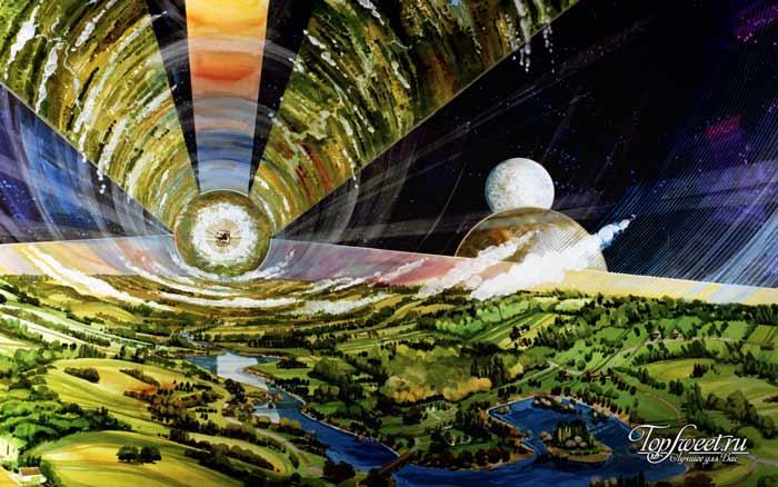 Космические пузыри Дэндриджа Коула