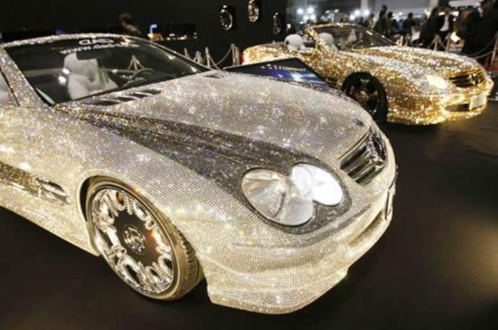 Кристаллический тюнинг автомобилей | Фото: liveinternet.ru
