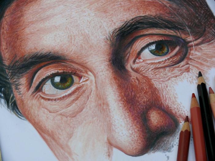 Гиперреалистичные портреты знаменитостей