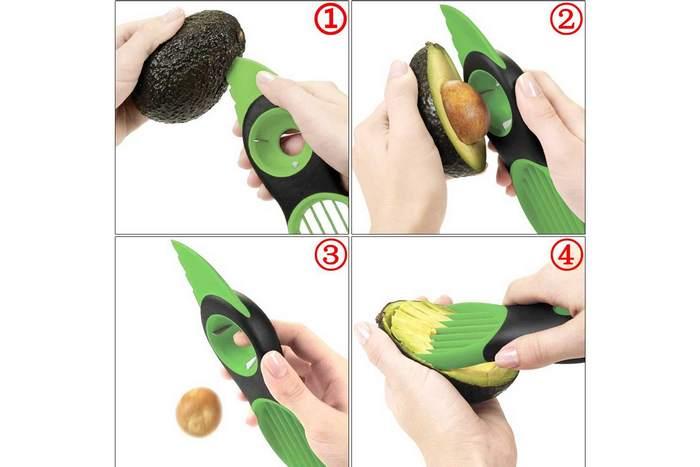 Странный кухонный гаджет «Слайсер для авокадо».
