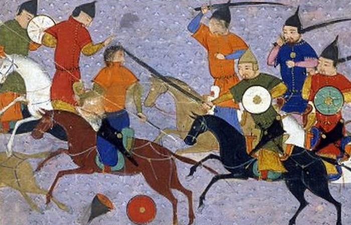 Монгольские полчища.