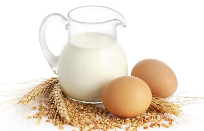 Молоко или яйца? Яйца и молоко!