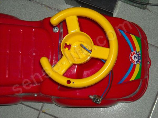 кнопка управления детским электромобилем