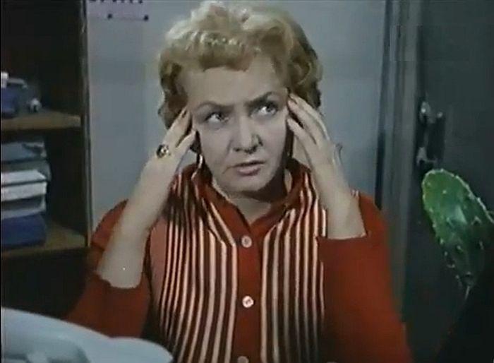Антонина Елисеева, кадр из киножурнала «Фитиль». / Фото: www.kino-teatr.ru
