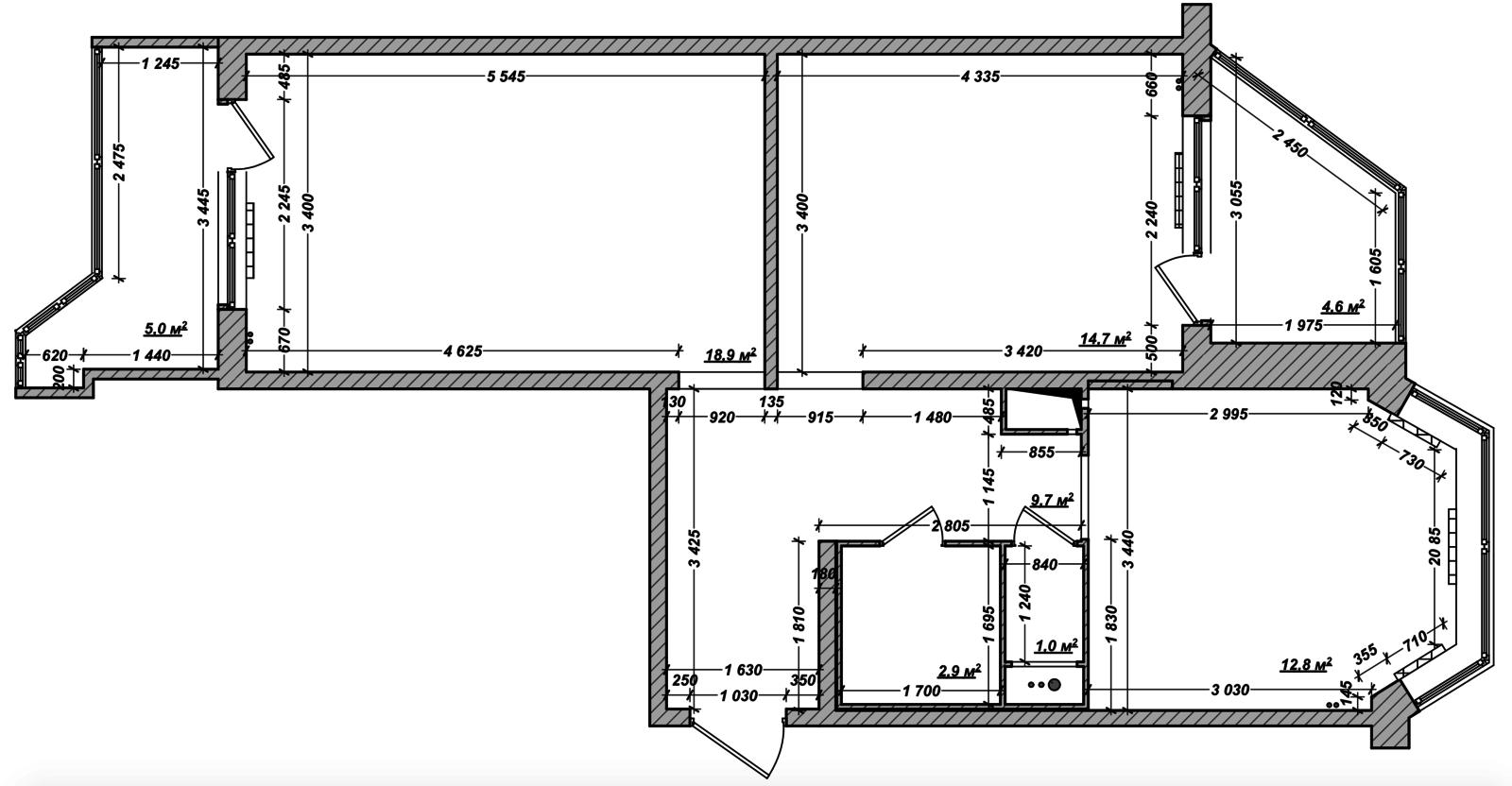 Двухкомнатная квартира москва, улица летчика грицевца, д.12,.