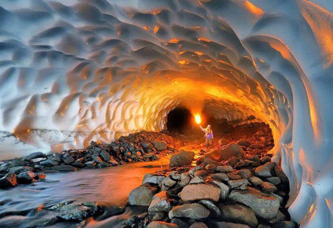 Ледниковая пещера, Аляска
