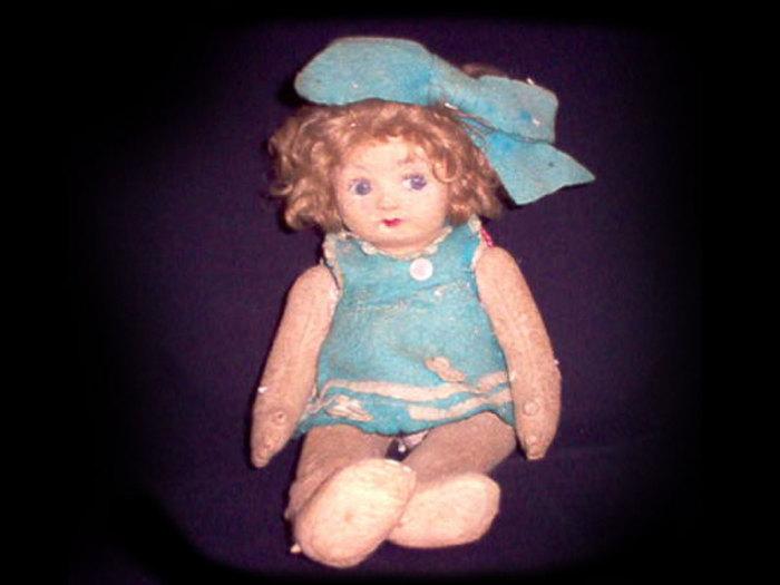 Кукла Пупа.