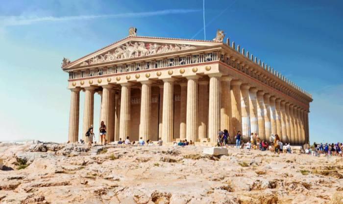 Парфенон – вершина греческой архитектуры (Афины, Греция). | Фото: eluniverso.com.