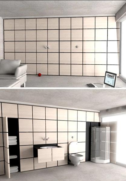 Ванная для одинокого человека