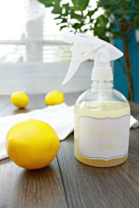 Лимонная свежесть для одежды.