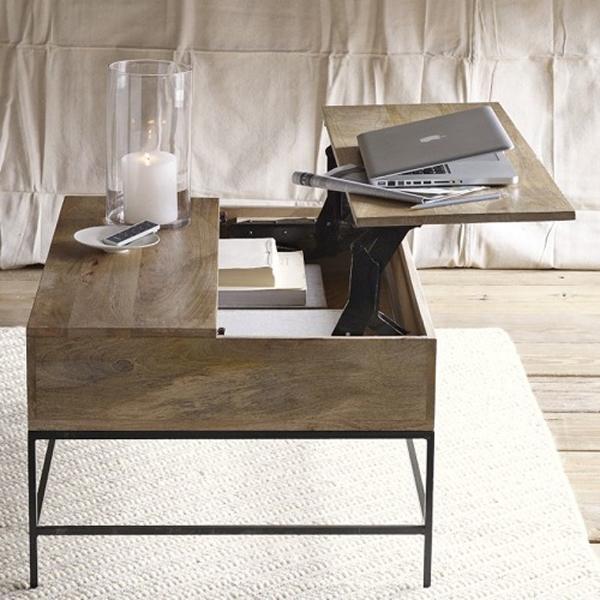 Удобный журнальный столик от West Elm