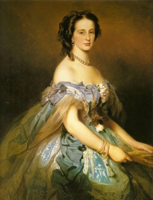 Эрнестинская принцесса, супруга великого князя Константина Николаевича.