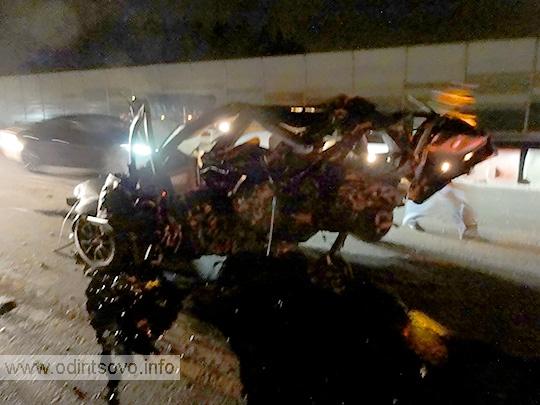 Автомобиль ФОРД после аварии
