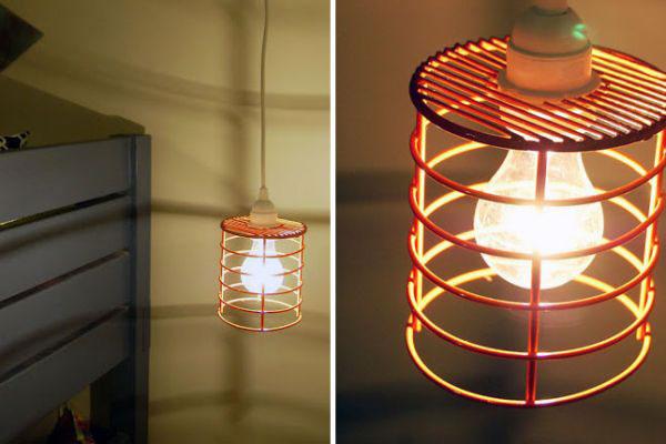 Плафоны для светильников из подручных средств: экономия прежде всего