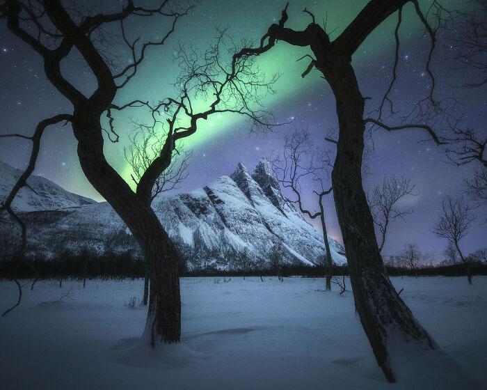 Сказочный пейзаж.