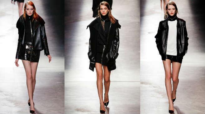 С чем носить классическую кожаную куртку