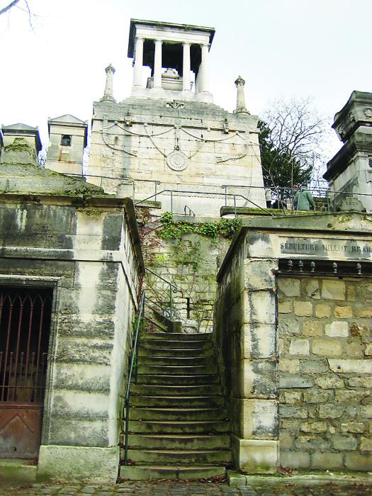 Склеп, где похоронена Елизавета Демидова.
