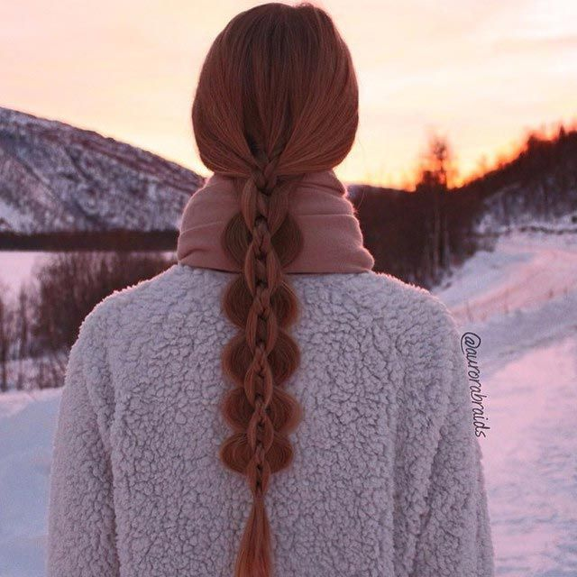 необычные косы, красивые косы, девушки с косами фото, Instabraid