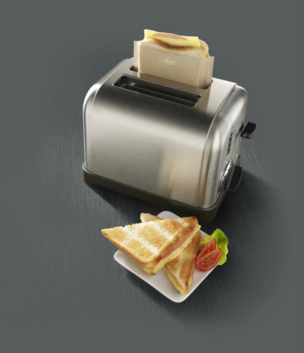 Мешочки для готовки в тостере.