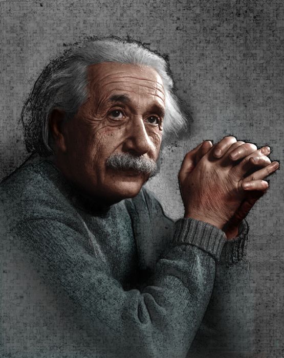 Альберт Эйнштейн. / Фото: www.pinimg.com