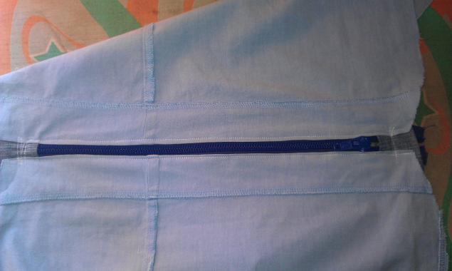 Модная сумка из старых джинсов, фото № 22
