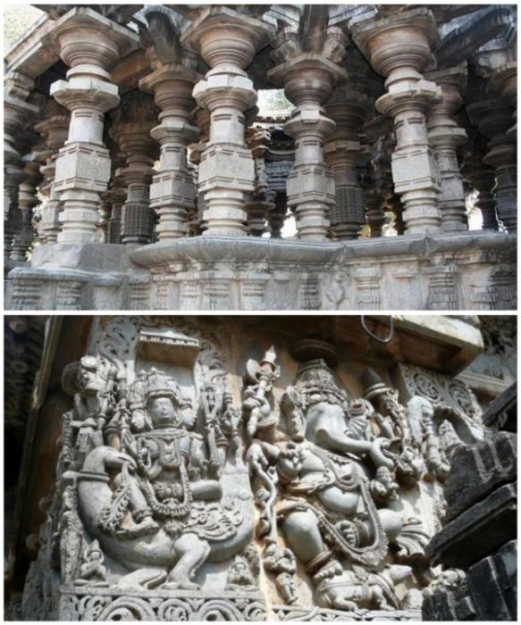 Впечатляющие творения древних зодчих, которые даже сейчас сложно превзойти (Шраванабелагол, Индия).   Фото: indoman-info.ru.