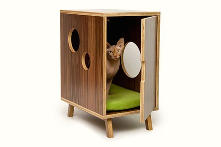 Спальня для любимой кошки: 10 милых идей фото 9