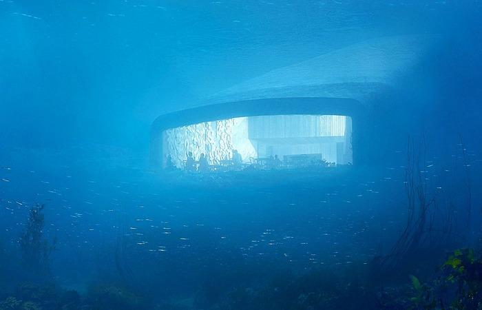 Первый подводный ресторан в Европе «Under».